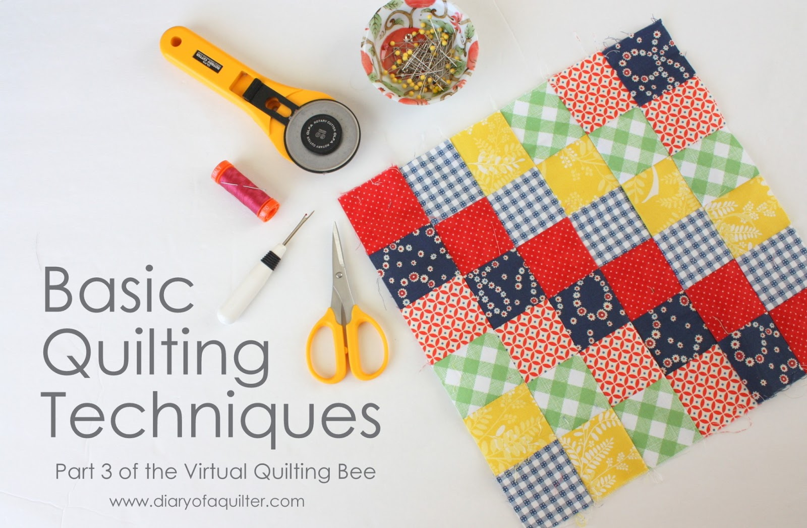 The Virtual Quilting Bee Diary Of A Quilter A Quilt Blog