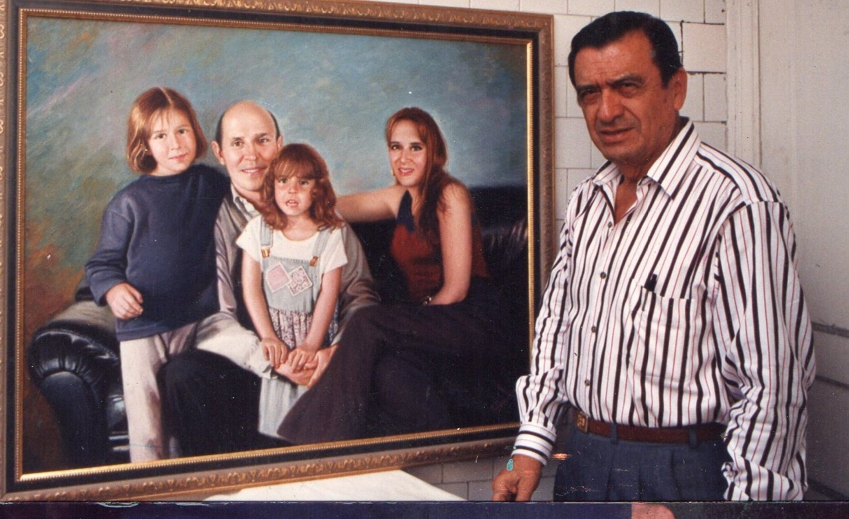 retratos de familia