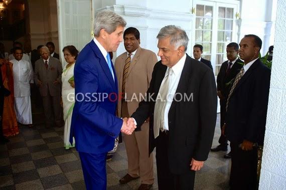 US Secretary of State John Kerry Sri Lanka