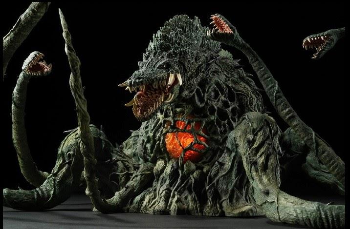 Godzilla Vs Biollante Set Coming From Bandai Scified Com