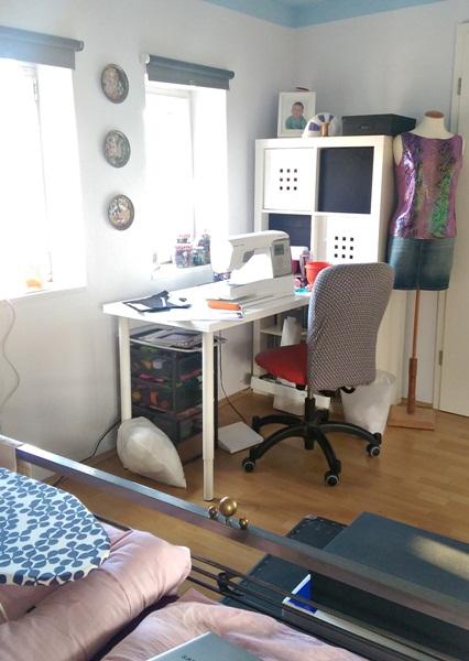Gwenny s blog 30 2015 mein neuer n hplatz im schlafzimmer - Mein schlafzimmer ...