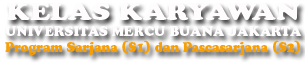 Kampus Kuliah Karyawan di Jakarta Depok Bekasi