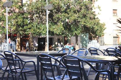 Plaça del Sol in Vila de Gràcia in Barcelona