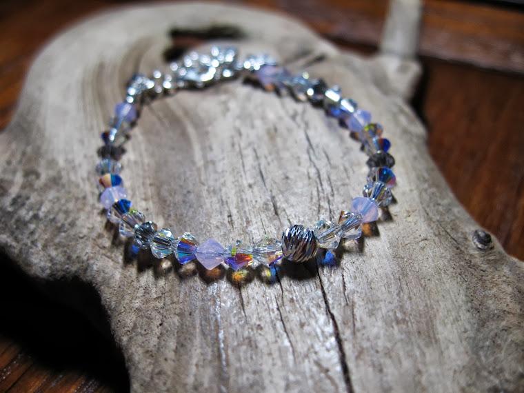 Swarovski bracelet for baptism