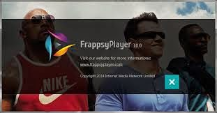 برنامج frappsy player لتشغيل الفيديوهات اخر اصدار