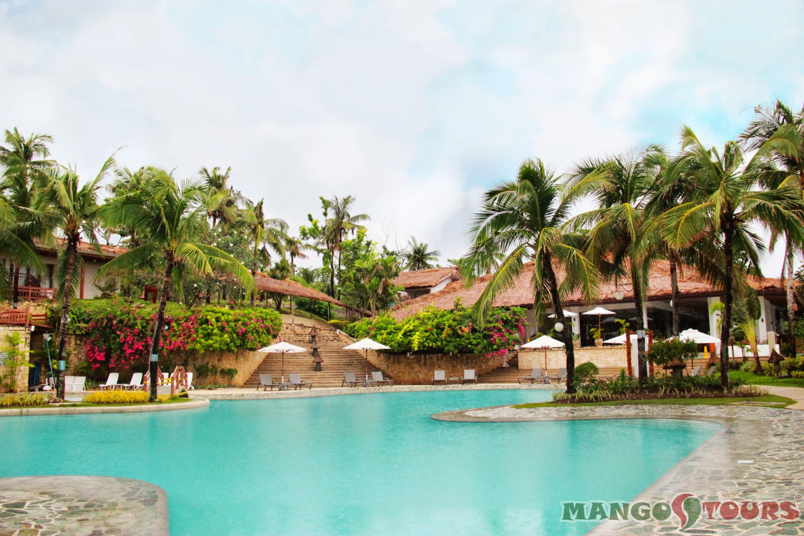 Mango Tours Alegre Beach Resort Philippines swimming pool