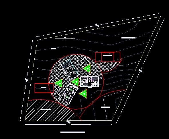 Proceso de dise o arquitectonico de una escuala superior for Ejes arquitectonicos