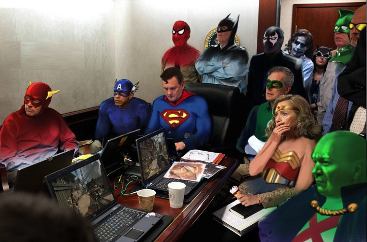 situation room logo. Superhero Situation Room