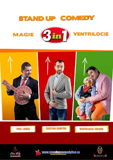 Stand-Up Comedy Magie si Ventrilocie-Duminica 30 august Brasov