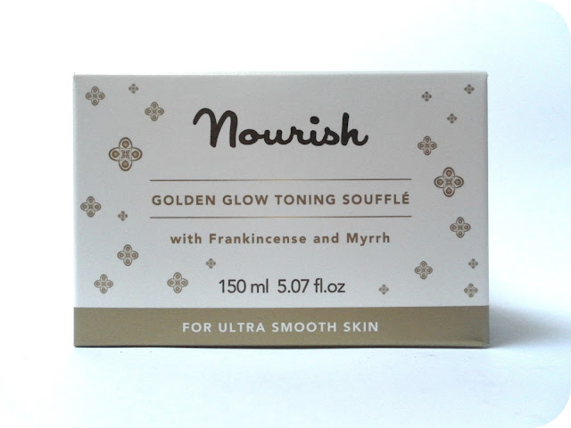 A picture of Nourish Golden Glow Toning Souffle with Frankincense and Myrrh