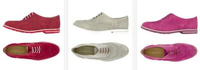 zapatos de colores Oxford