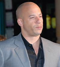 Vin Diesel Famous Bald Man