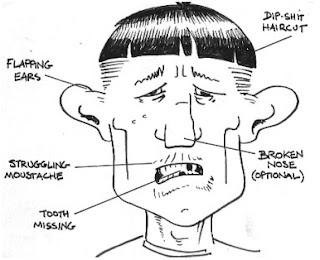 Caricatura de un knacker