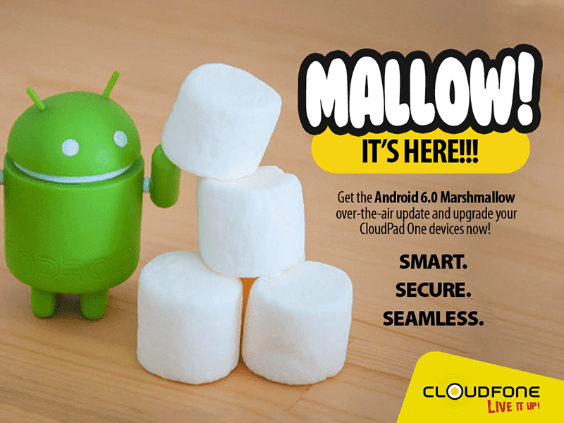 CloudPad One Marshmallows