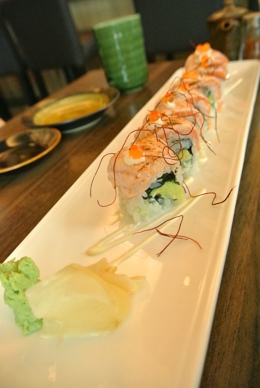 May fj love food fukuichi japanese dining triple one for Triple tail fish taste