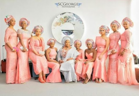 Tolu Oniru looks good as she steps out for her Traditional Wedding (First Photos )