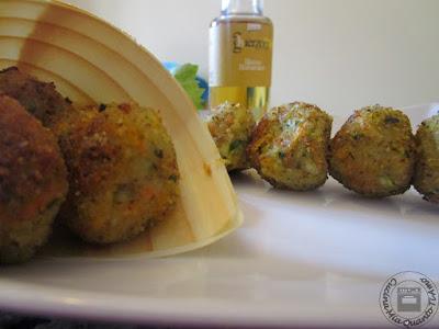 polpette di verdure in agrodolce