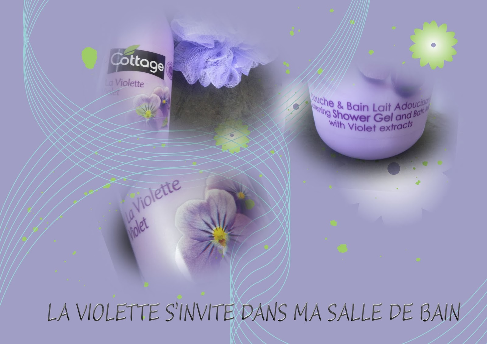 la violette s invite dans ma salle de bain lesenviesdetalie