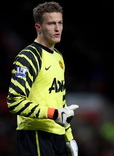 Anders Lindegaard Manchester United Goalkeeper 2011-2012