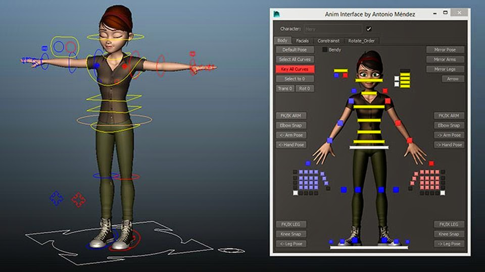 Introduction to Character Rigging | Tutorials | AREA by