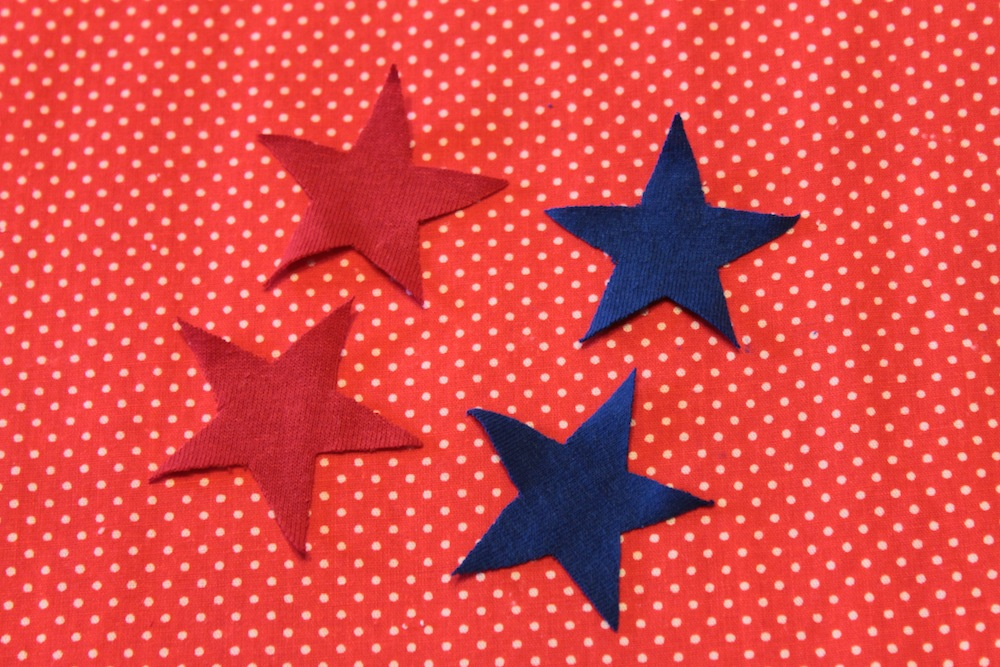 Simple serendipities refashion friday stars stripes for How to cut a perfect star