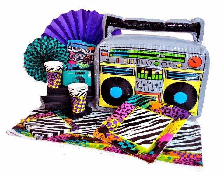 Inolvidables 15 una fiesta llena de color fiesta for Decoracion 80 90
