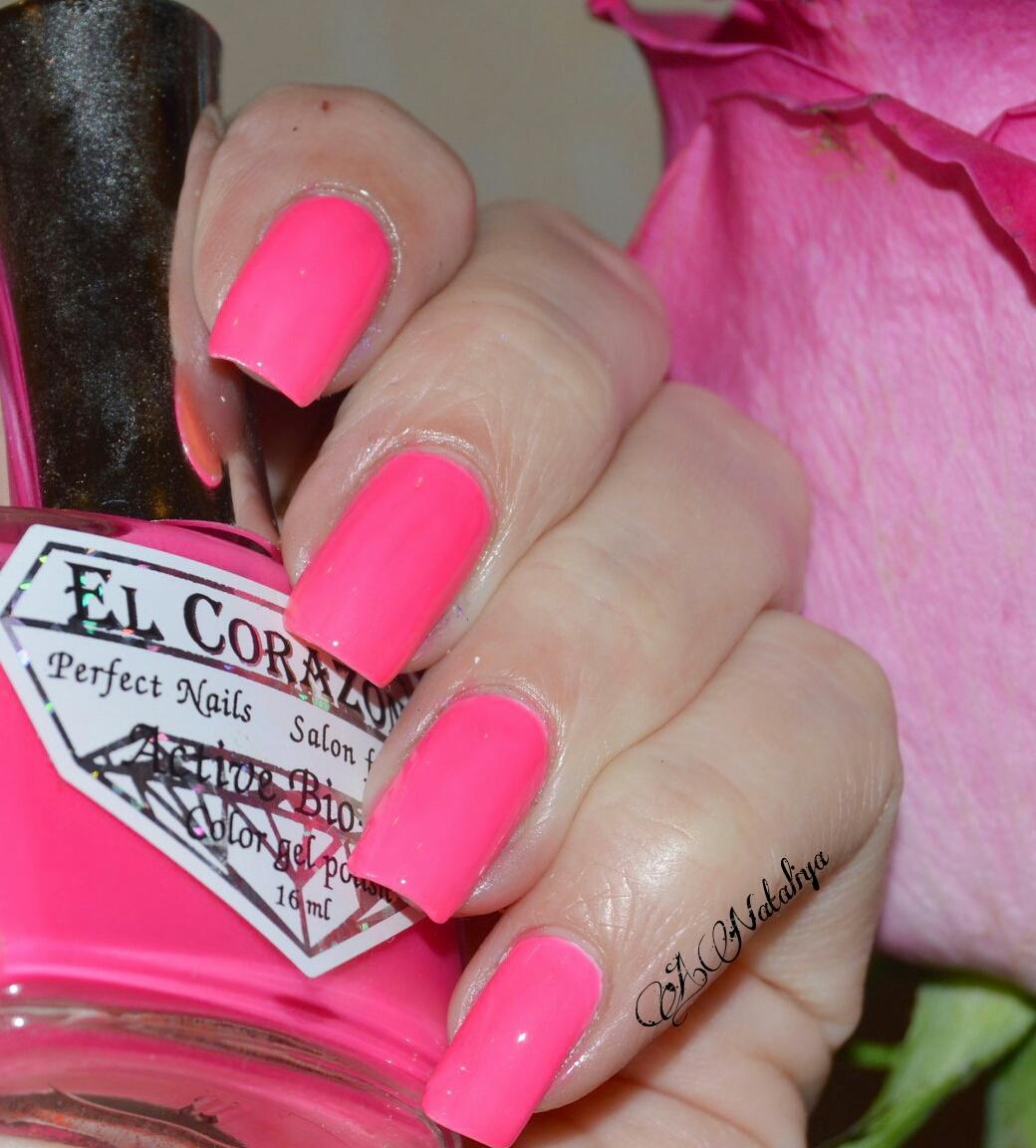 Ногти фото розовый цвет