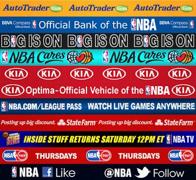 NBA TNT Sideline Banners