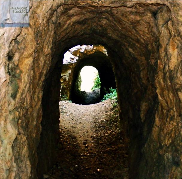 la tunele cheile nerei