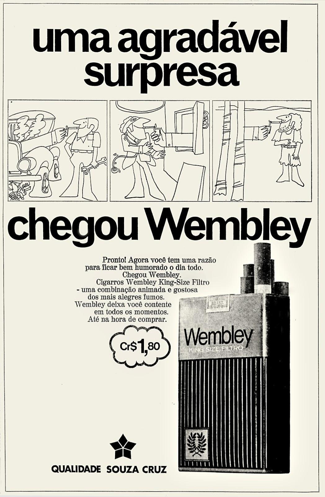 1972; propaganda anos 70; história decada de 70; reclame anos 70; propaganda cigarros anos 70; Brazil in the 70s; Oswaldo Hernandez;
