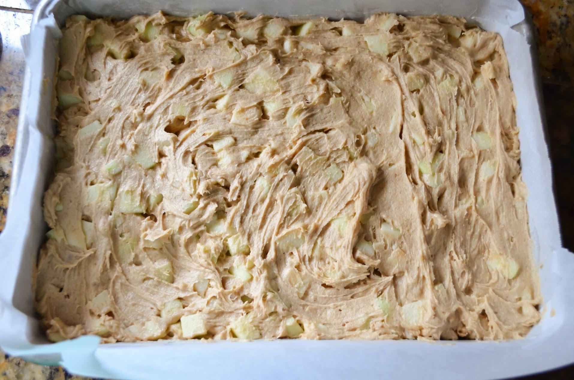 Caramel-Apple-Cake-Spread-Evenly.jpg