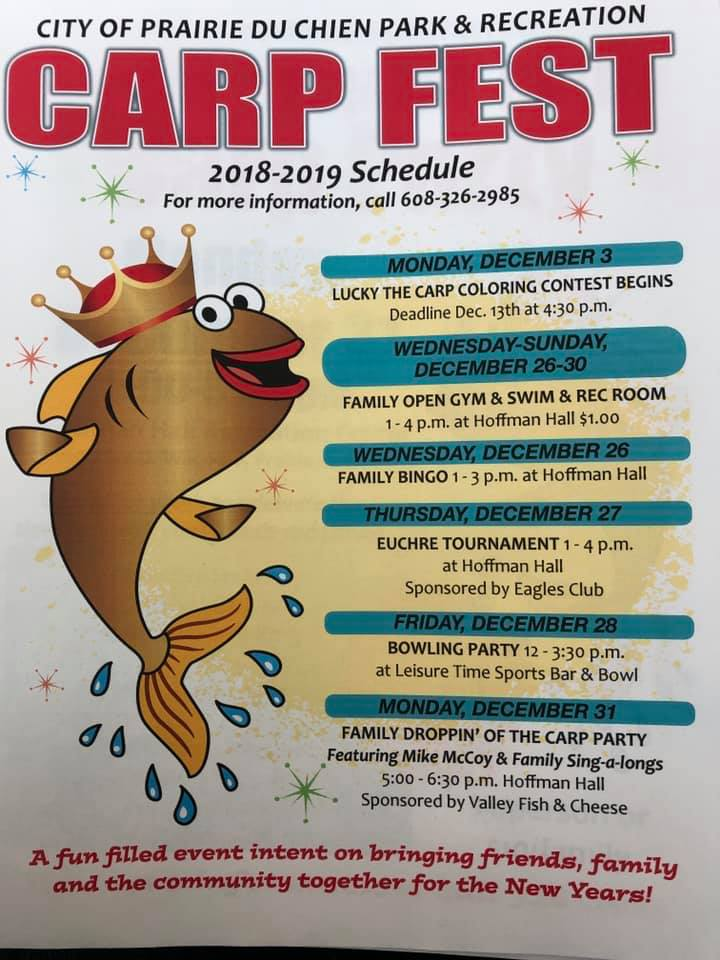 Family Carp Fest Events