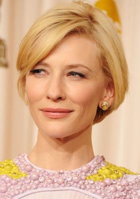 Cate Blanchett Diamond Studs