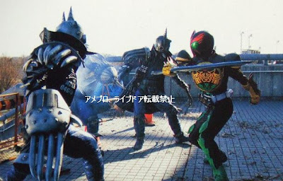 LET'S GO KAMEN RIDERS: OOO vs Mole Imagins