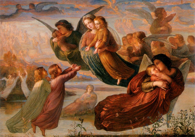 Sainte Catherine de Gênes 3+novembre+-+anges+et+purgatoire