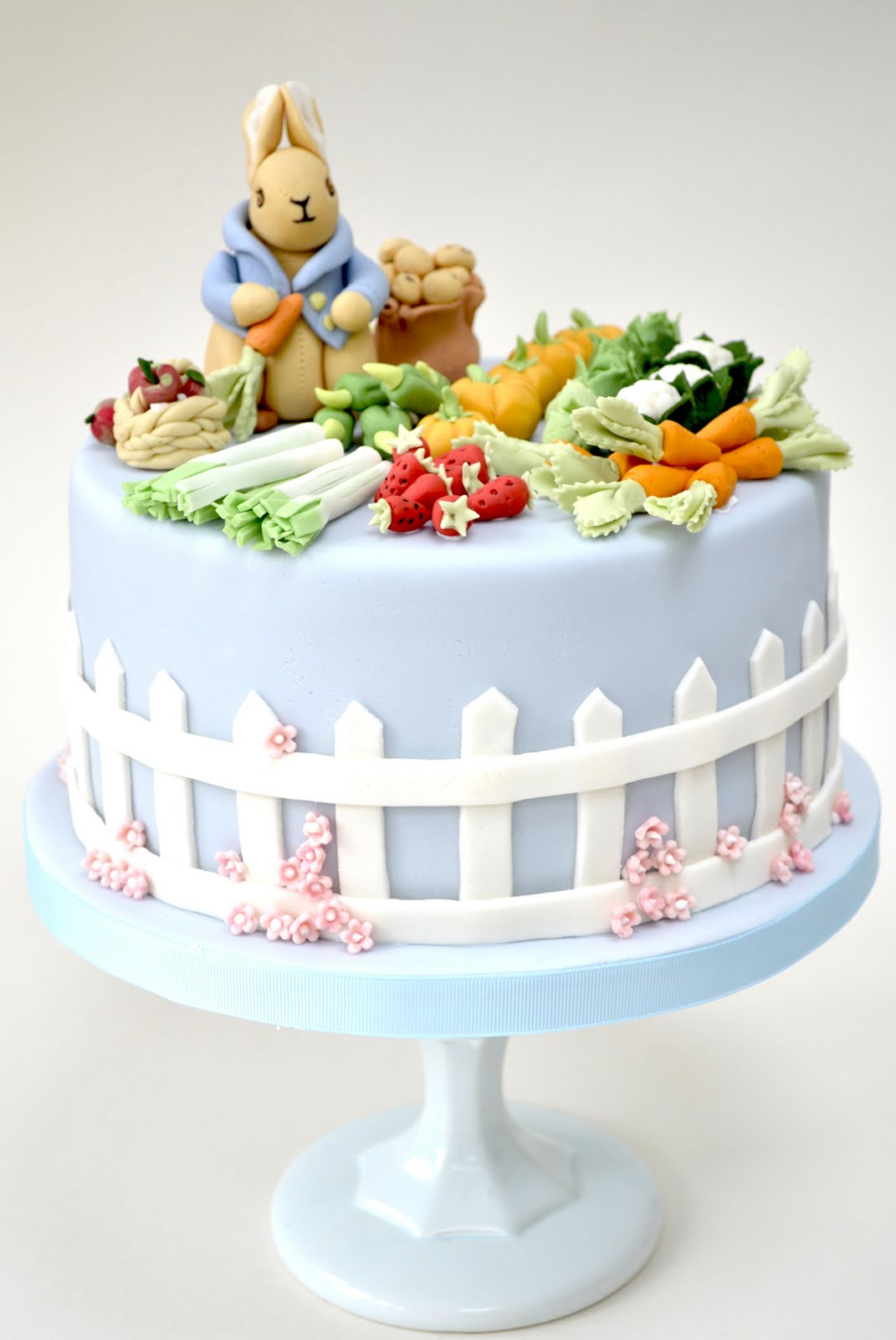 Rosalind Miller Cakes A cute Peter Rabbit birthday cake