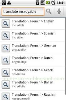 Searchify: Free Android App Translate Feature