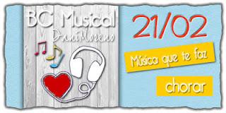 Blogagem Coletiva Musical: Música que te faz chorar.