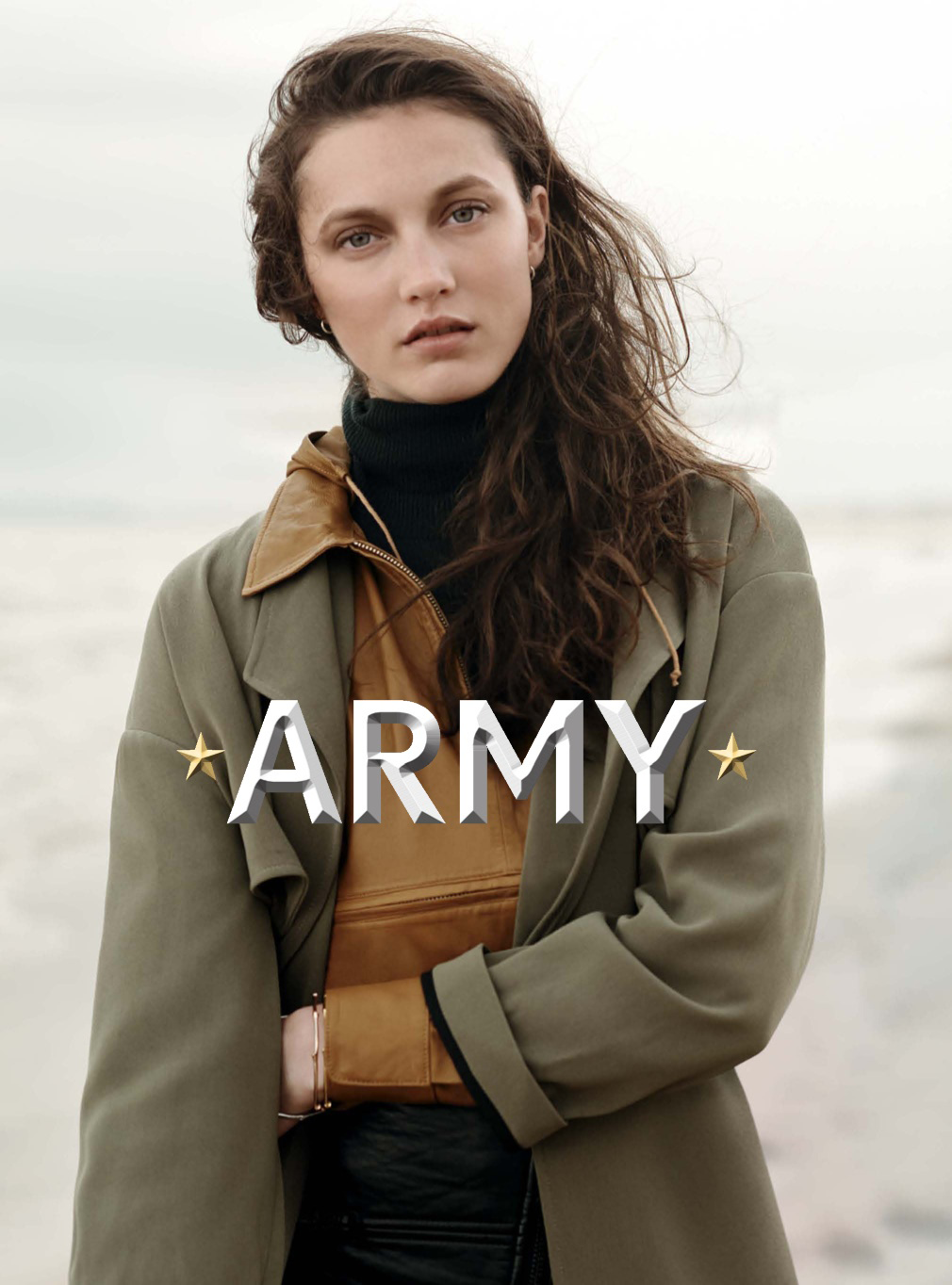 new model army: matilda lowther, malaika firth and hollie may saker by ...