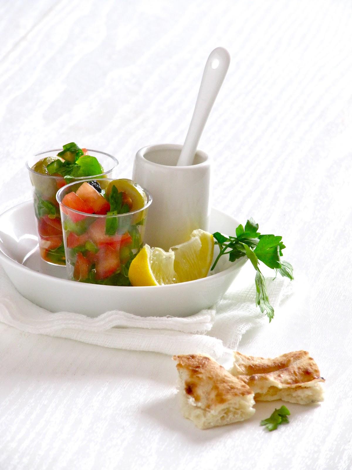 Plateful: Olive Salad — a simple Middle Eastern mezedhe, aka the ...