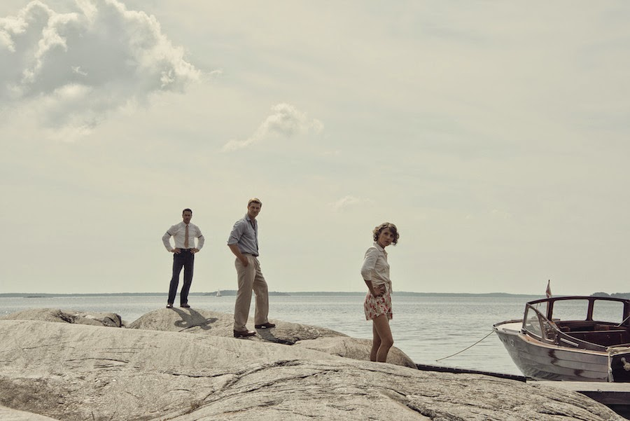 Christer (OLA RAPACE), Eje (LINUS WAHLGREN), Puck (TUVA NOVOTNY)