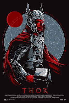 """Thor"" Screen Print by Ken Taylor"