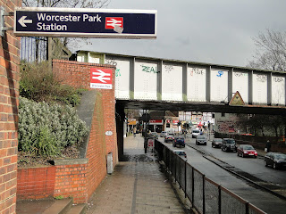 Worcester Park Station