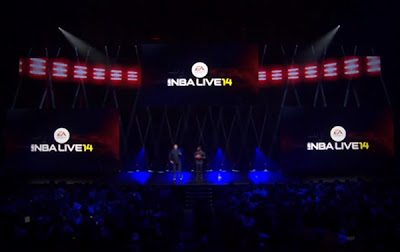 NBA Live 14 E3 2013 Conference Demonstration