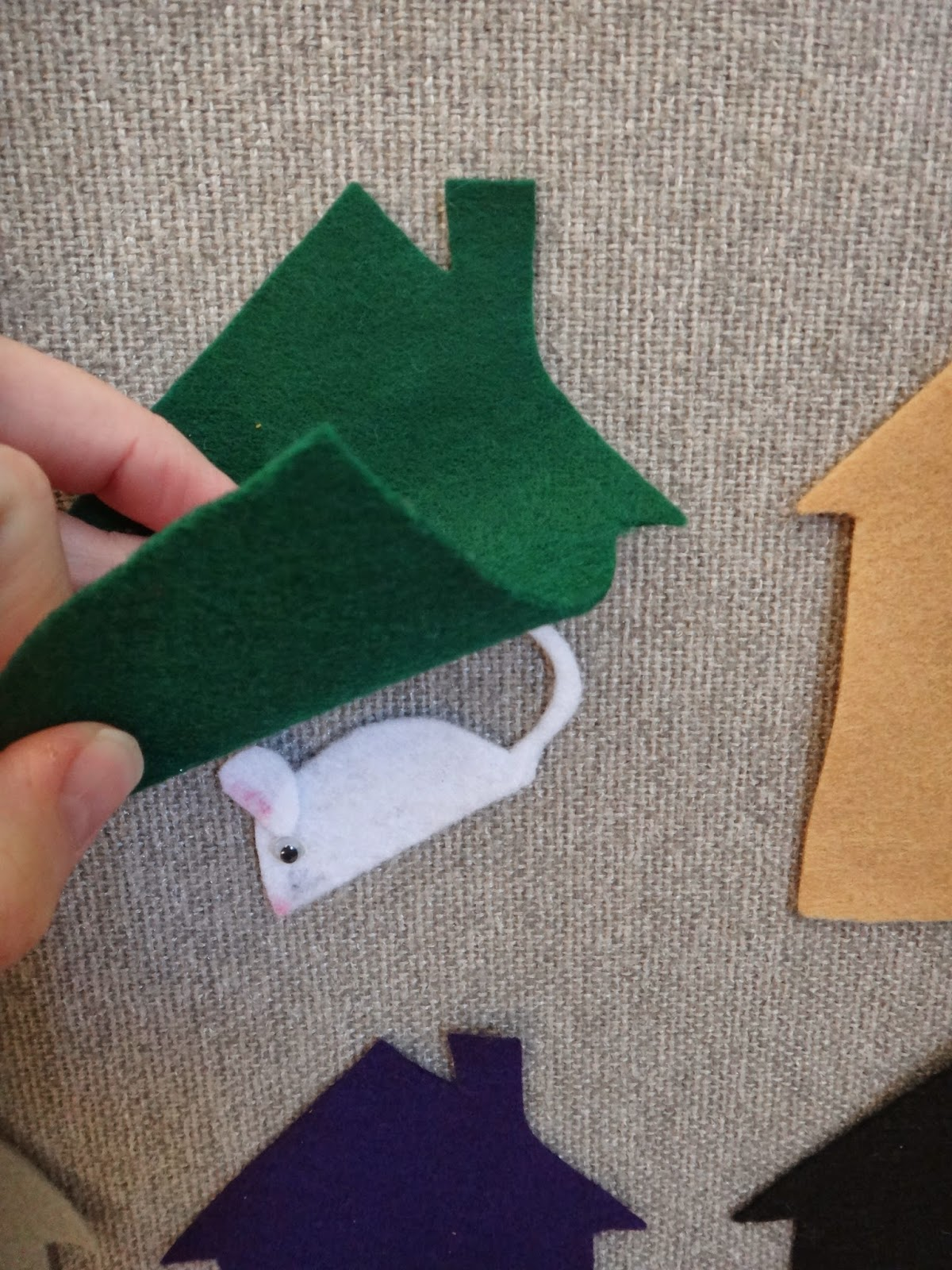 Little Stars Learning: Little Mouse Felt/Flannel Board