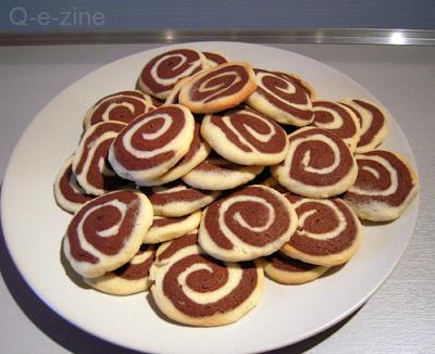 biscuits bicolores de Noel