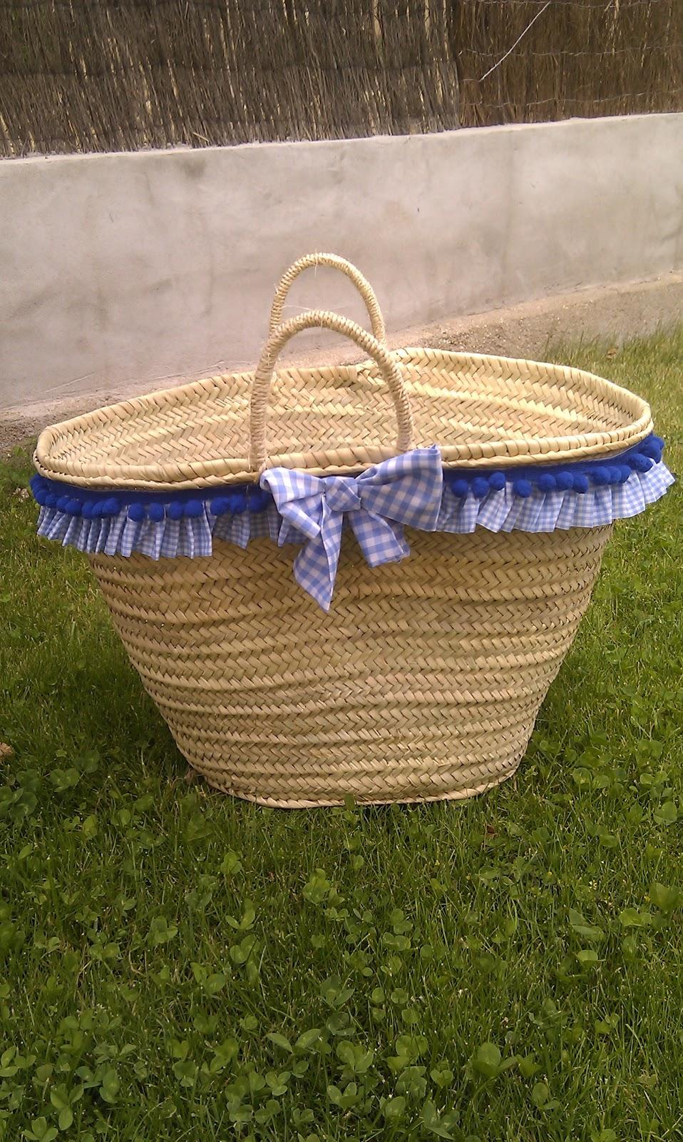 Entre dulces y lacitos cestas para la playa - Cestas para la playa ...