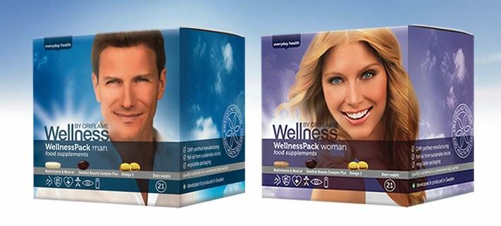 WellnessPack od Oriflame