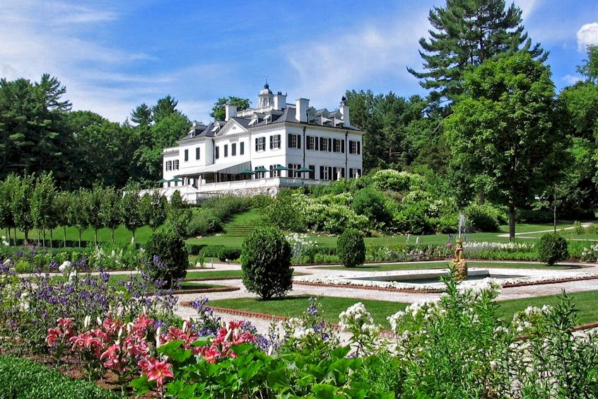 """The Mount"", Edith Wharton's house and garden at Lenox, Mass."
