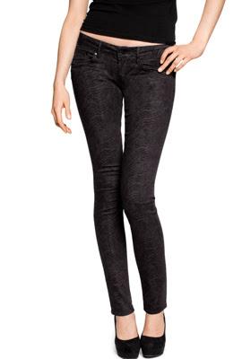 H&M jeans mujer estampado serpiente